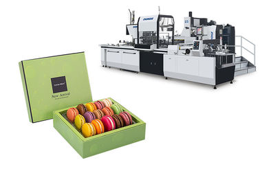 12 L / Min Air Supply Gift Box Making Machine , Automatic Forming Machine