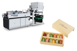 Multi Function Sweet Box Making Machine Automatic Glue Spraying System