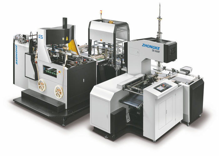 High Speed Automatic Rigid Box Making Machine Zk-660F One Year Warranty