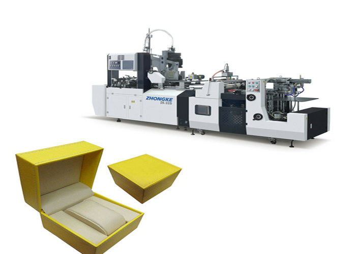 Economic Automatic Cardboard Box Making Machine W / O Angle Pasting