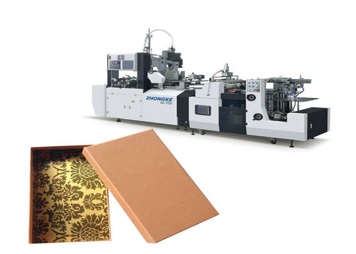 2300 Kg Cardboard Box Manufacturing Machine Photoelectric Tracing System